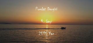 Poedat Dergisi 4 2015 Yaz Sayısı