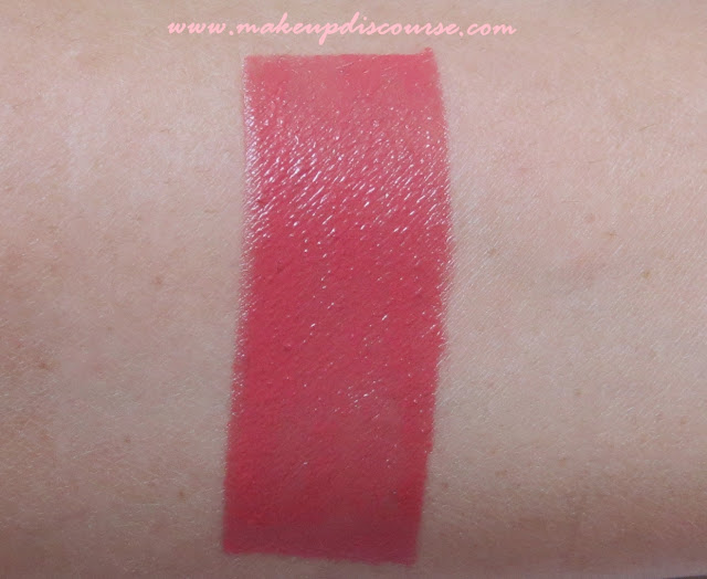 Lotus Pure Colours Lipstick in Carnation Swatch in Daylight