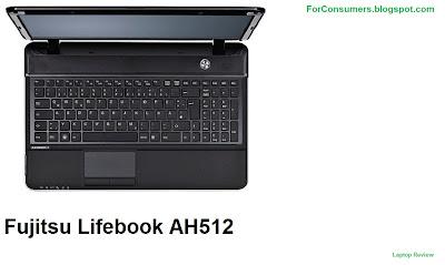 Fujitsu AH512 laptop