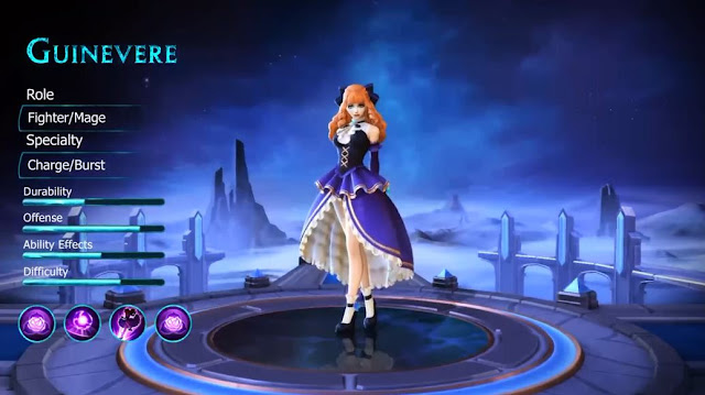 Review, Cara Main dan Build Item Guinevere Mobile Legends