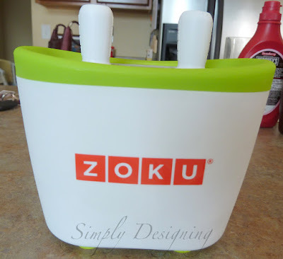 pops+03 Popsicles in MINUTES with Zoku Quick Pop Maker 45