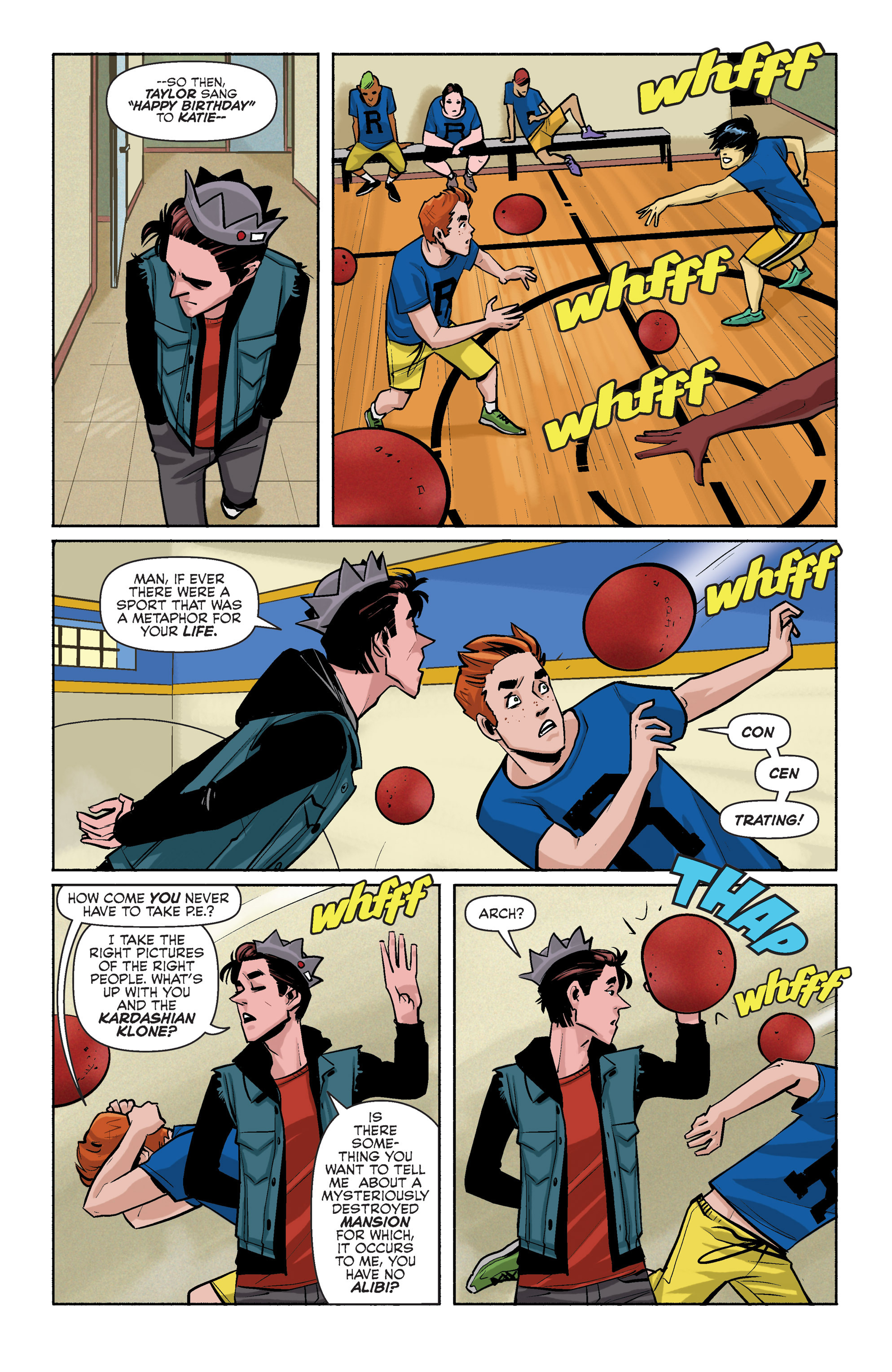 Read online Archie (2015) comic -  Issue #3 - 10