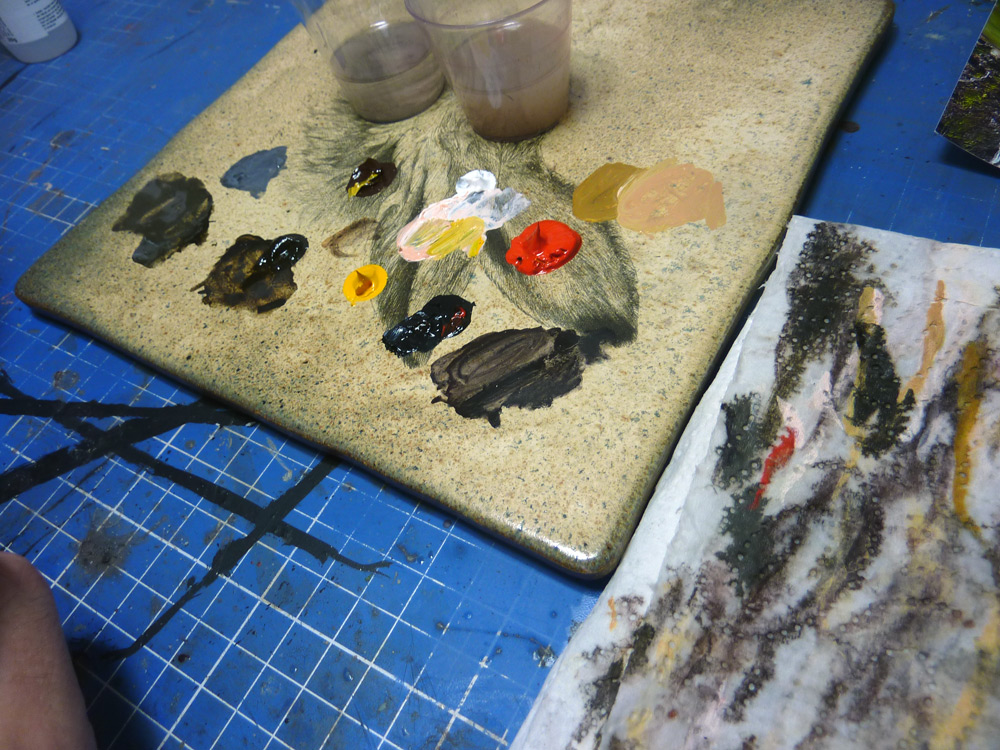 MASSIVE VOODOO: Tutorial - Miniature Painting with Oil