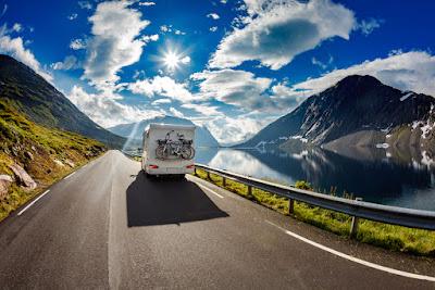 Autocaravana por las carreteras islandesas