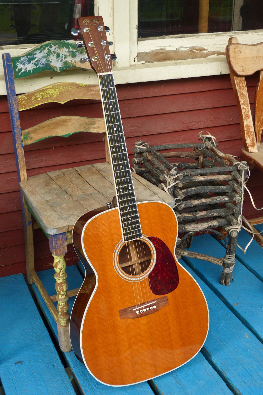 1994 martin m 36 jumbo flattop guitar. Black Bedroom Furniture Sets. Home Design Ideas