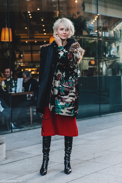 Camouflage print street style 2016