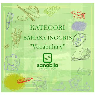 Daftar Isi Vocabulary Terlengkap