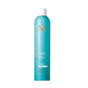 moroccanoil luminous hairspray strong review
