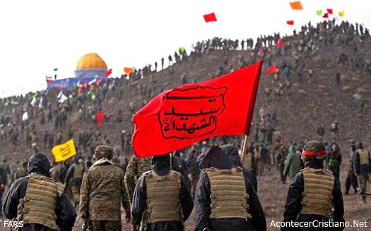 Ejercitó de Irán simulacro conquista de Jerusalén