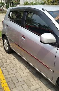 Daihatsu Ayla Matic Type X Seken Mulus Tahun 2014 Jarang Pakai Km 8000-an