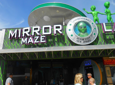 Mirror Maze on Ocean City Boardwalk in New Jersey