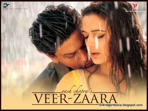 Shahrukh Khan dan Preity Zinta dalam film Veer Zaara