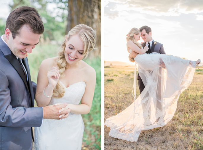 Montana Bride and Groom / Wedding Portraits / Photography: Mackenzie Keough / Florist: Mums Flowers
