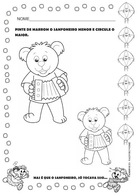 Sequência Didática Festas Juninas O Sanfoneiro Só Tocava Isso Educação Infantil