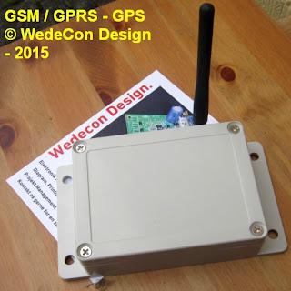 GSM KONTROL ELEKTRONIKUDVIKLING PROTOTYPE