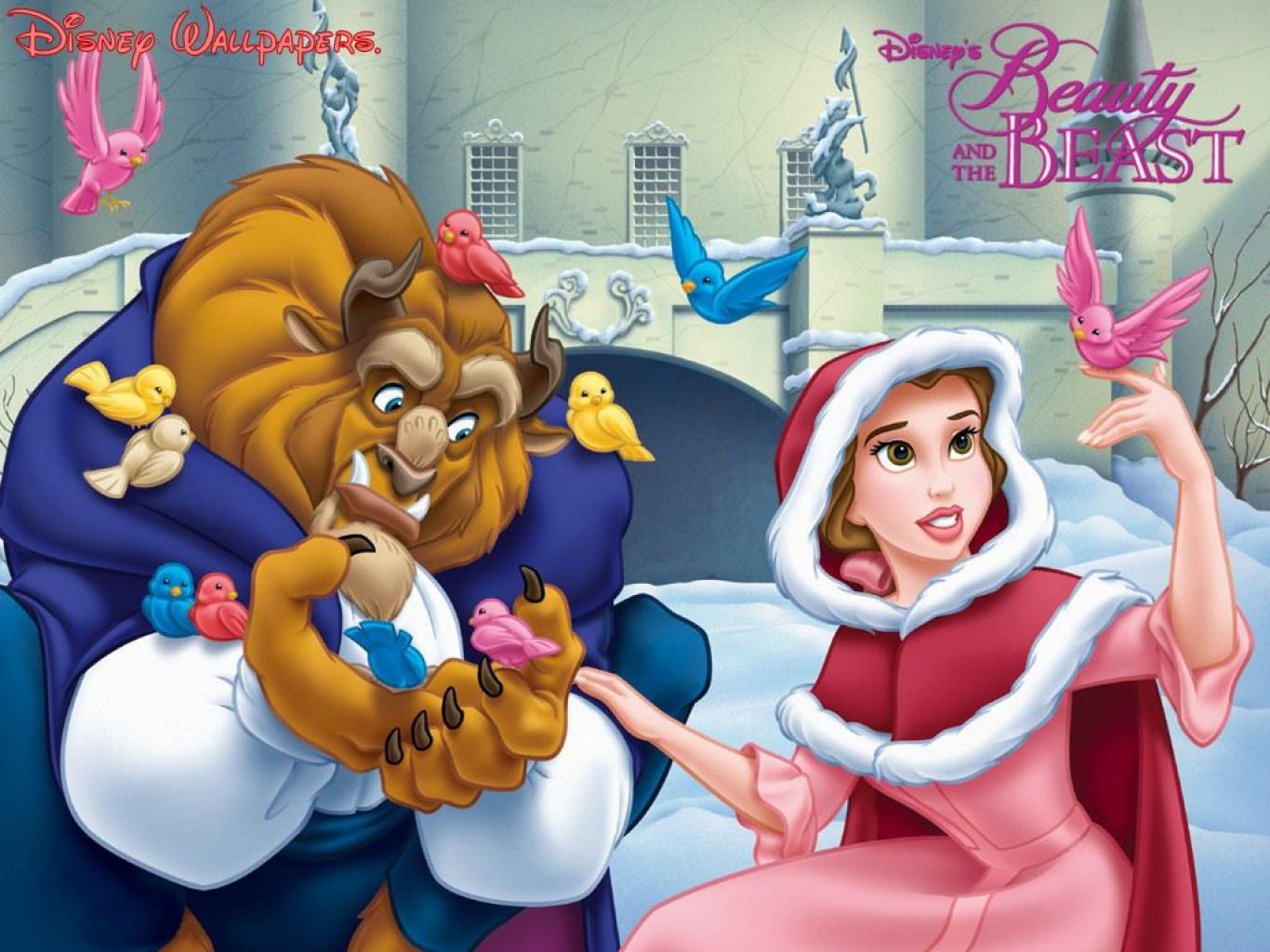 Imagen Navidad La Bella Y La Bestia