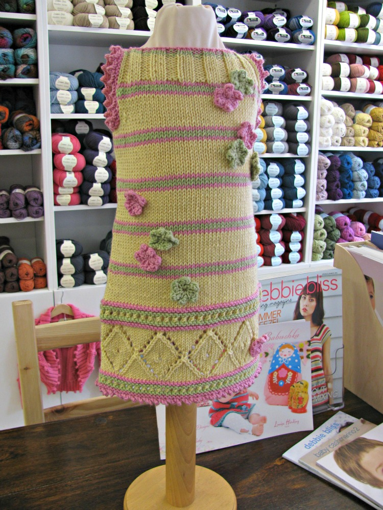 Knitting pattern book for babies Babushka by Louisa Harding