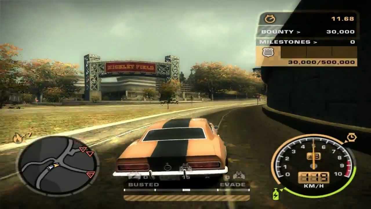 تحميل لعبة need for speed most wanted black edition مضغوطة