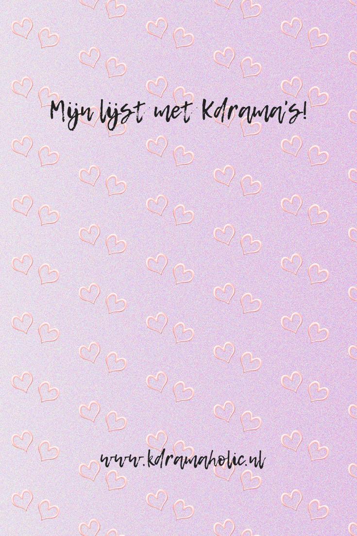 Kdrama's