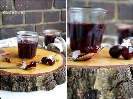 Spirellis Allerlei - Kirsch Chutney mit Zwiebel
