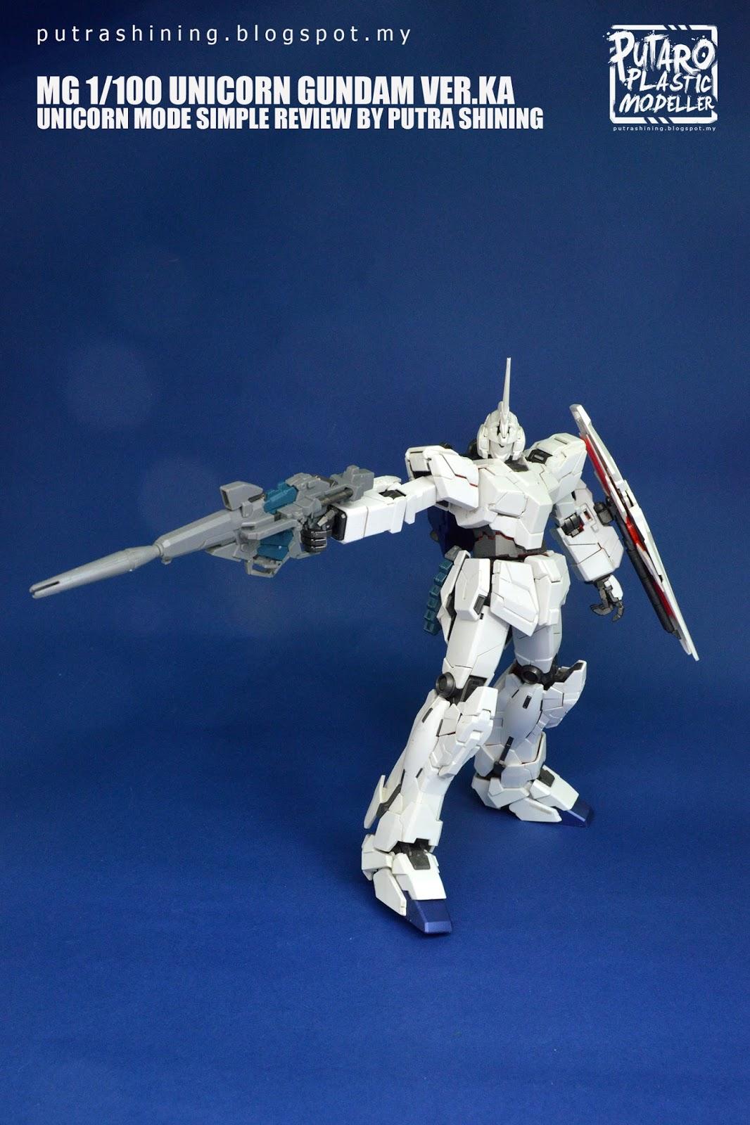Mg 1 100 Unicorn Gundam Verka Review Mode By Putra Rx78 2 114215