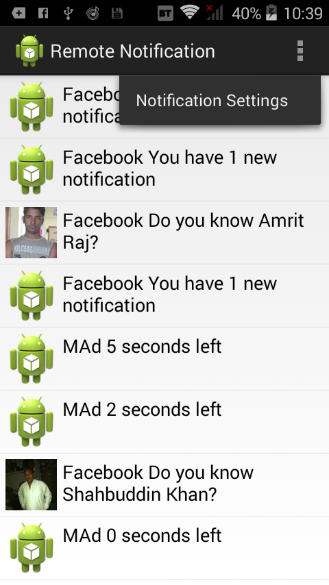 Android Read Status Bar Notification | Android Read all incoming