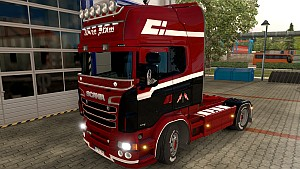 Scania RJL Advin Stam paintjob