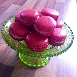 Macarons, gebacken, pink, Loewchenzimmer, Löwchenzimmer,