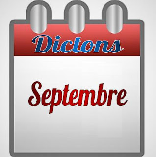 dictons Septembre