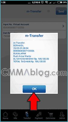 cara transfer bca virtual bukalapak