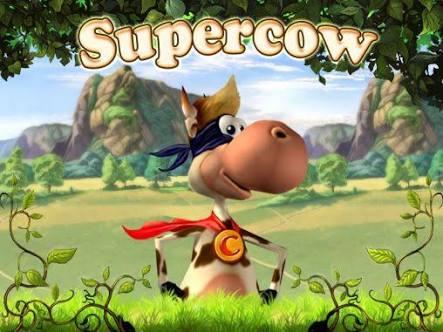 تحميل لعبه البقرة  الخارقه  supercow  للكمبيوتر وللاندرويد والتحميل من ميديا فاير