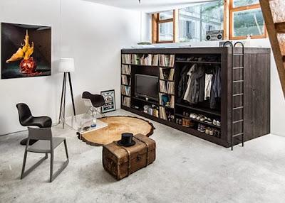 101綠住宅   居家養生: 多功能家具設計