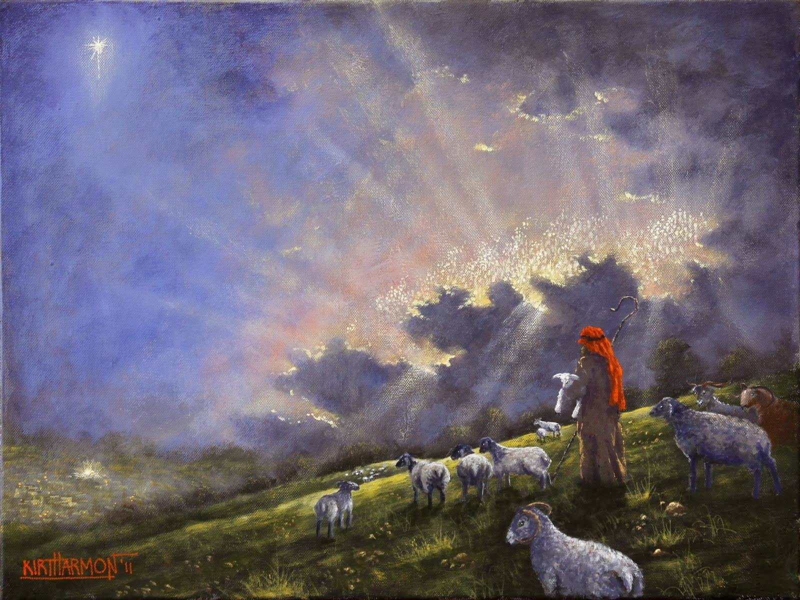 Creative Kidstuff 12 Days More On The Shepherds
