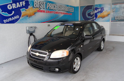 Pick of the Week - 2007 Chevrolet Aveo LT
