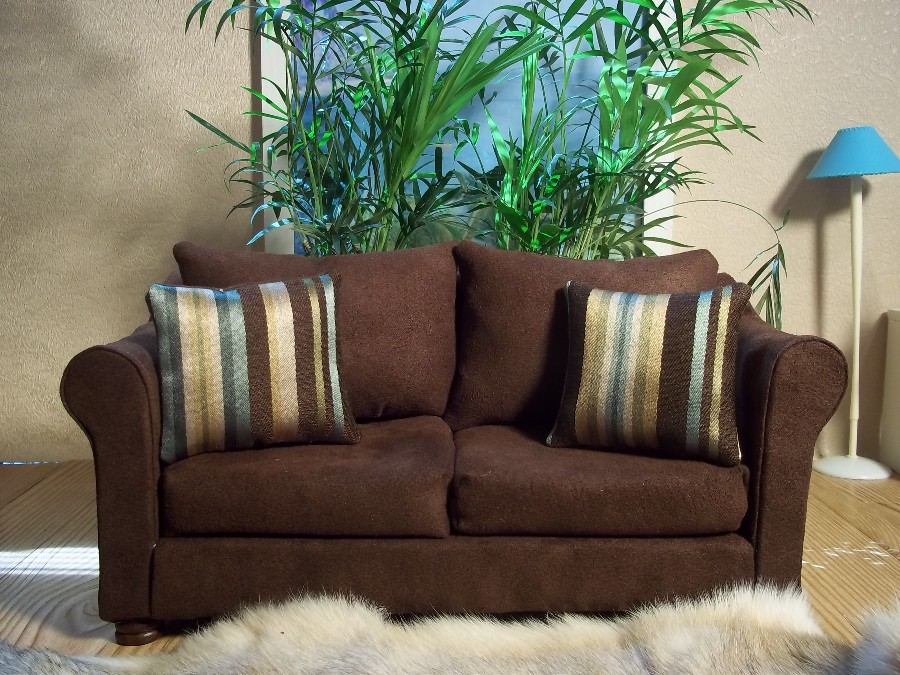 Brown Suede Sofa 3 Seater Suede Sofa And Matching Armchair