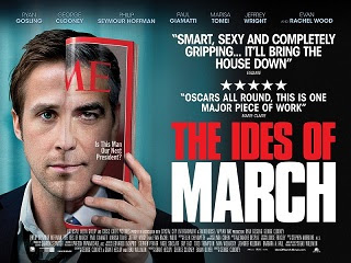 The Ides Of March UK quad movie poster