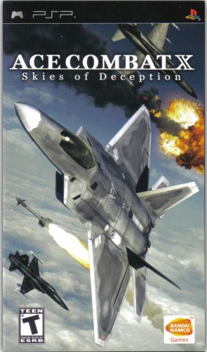 Game Ace Combat X – Skies Of Deception(Usa) Iso Ppsspp For Android