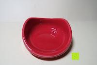 Ablage oben: Porzellan Teekannenservice von Original First Tea (Rot)