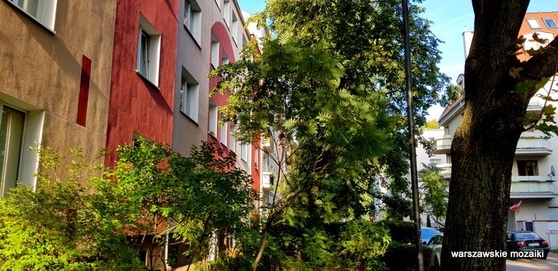 Warszawa Warsaw ulice Ochoty architektura modernizm