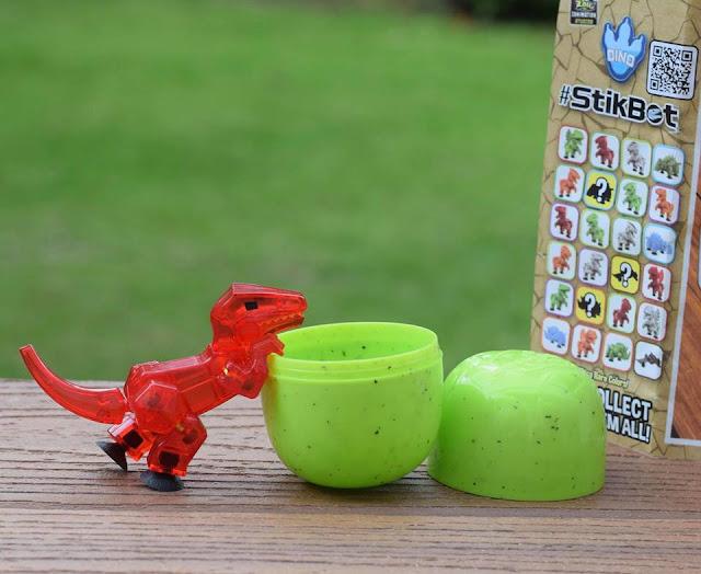 #Stikbot Dino egg velociraptor