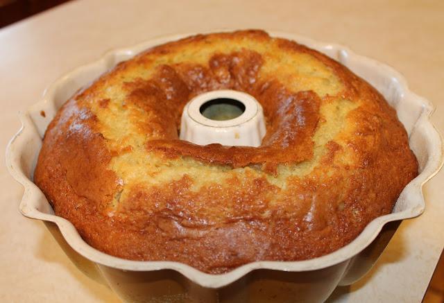 The Baked Lemon Yogurt Cake