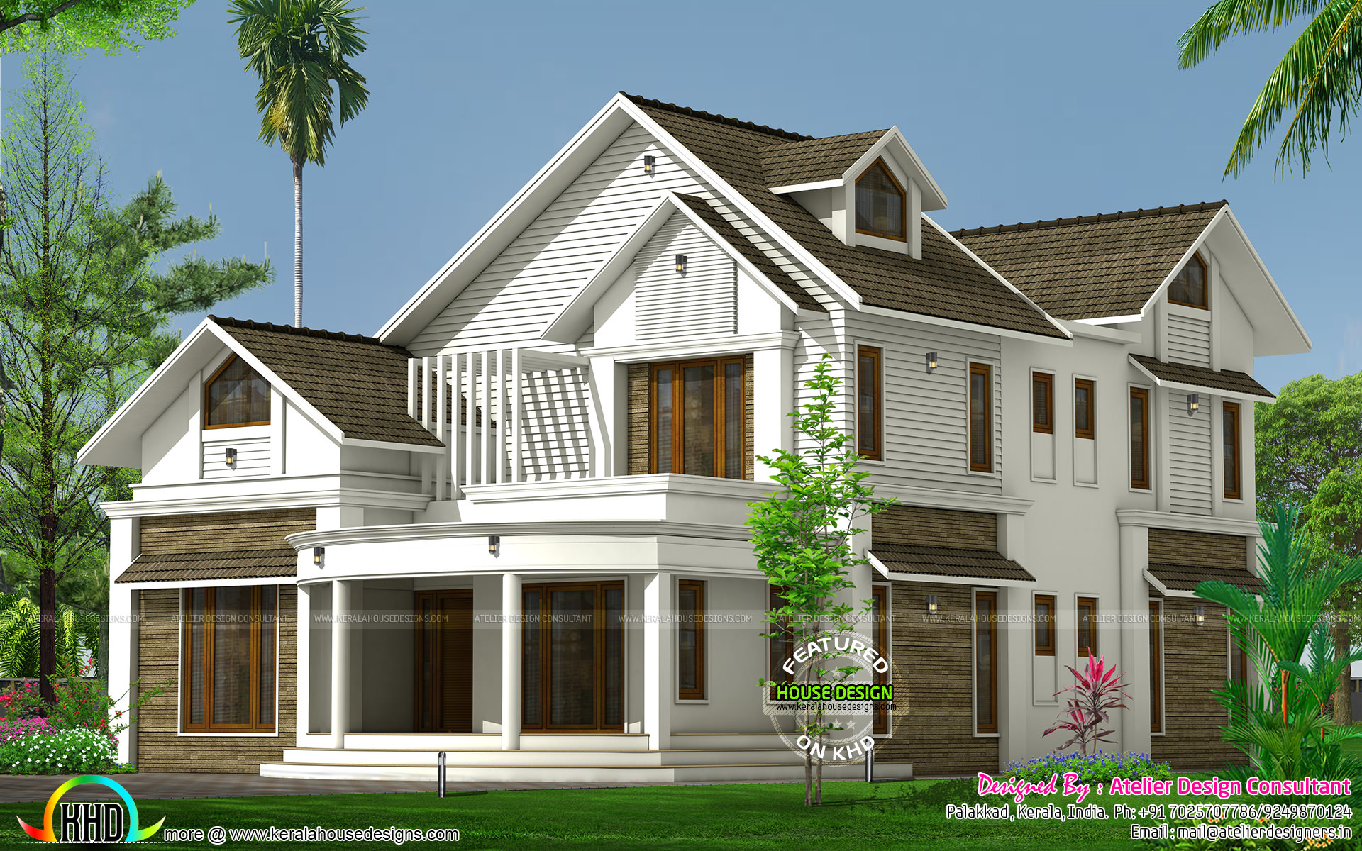 House Style Roof : January kerala home design and floor plans