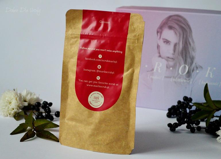 InspiredBy zestaw U.R.O.K - EDYCJA VI MARK Coffee Coconut Scrub