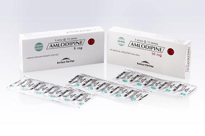 Harga Amlodipine Obat Hipertensi dan Angina Terbaru 2017