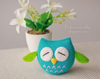Amigurumi Little Owl-Free Pattern