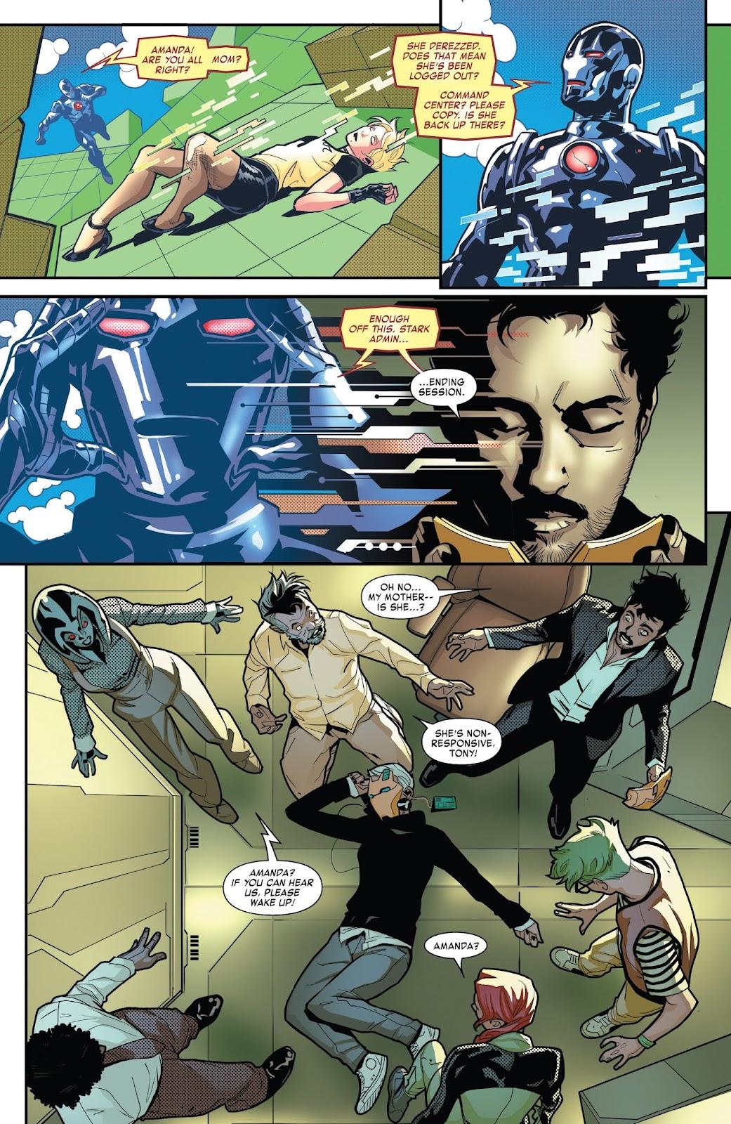 Read online Tony Stark: Iron Man comic -  Issue #7 - 6