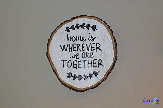 Wood Slice Wall Decor, Wood Slice Wall Decorations, Wood slice, wood slice crafts, wall decor,  wood slice paintings, wood slice sayings, wood signs, wood wall decor, wood slice ideas, wood slice art, tree stump decor, tree stump decoration, home decor, wood sign, wood stump sign, wood slice sign, DIY, DIY wall decor, DIY wood decorations, Wood decorations, Home is wherever we are together, Home is wherever we are together wall art, Home is wherever we are together wood slice, Home is wherever we are together wall decor