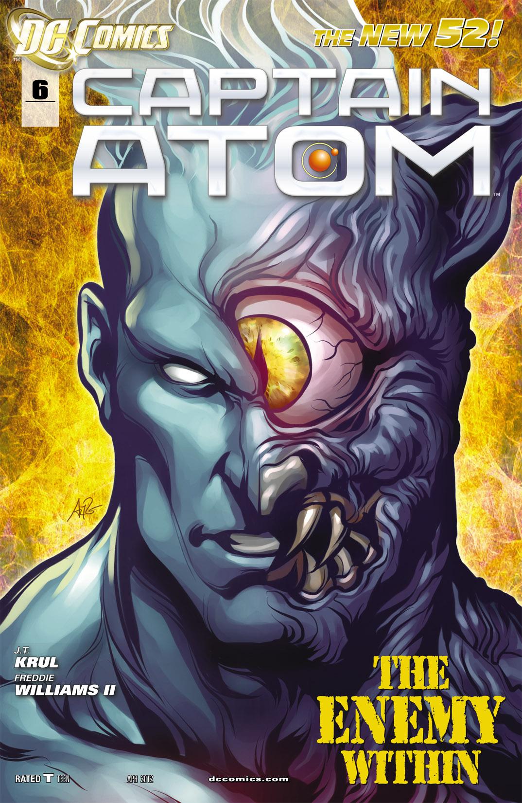 Captain Atom (2011) 6 Page 1
