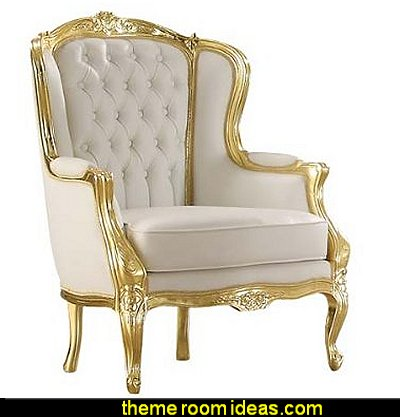 Accent Chair  mythology theme bedrooms - greek theme room - roman theme rooms - angelic heavenly realm theme decorating ideas - Greek Mythology Decorations - heavenly wall murals - asngel wings decor - angel theme bedrooms