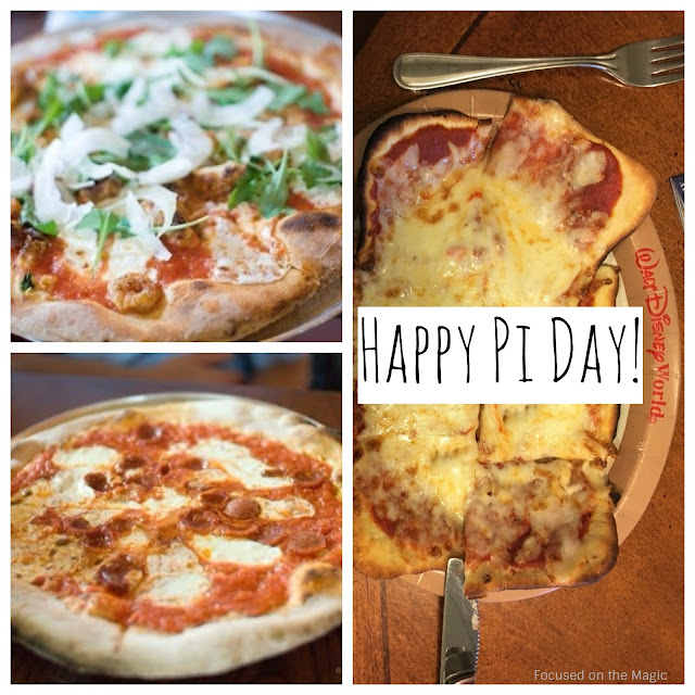 Via Napoli and Saratoga Springs Resort Pi Day